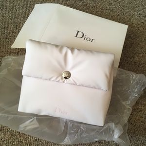 NWOT Dior Padded Makeup Pouch